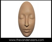 Mold No.73(Elongated Oval Face- Closed eyes) by Veronica Jeong