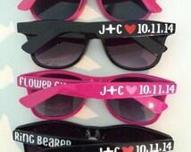 Ring Bearer Gift, Flower Girl Gift, Ring Bearer and Flower Girl Sunglasses, Child Size Sunglasses