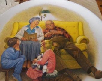 Cstari grandparent plate
