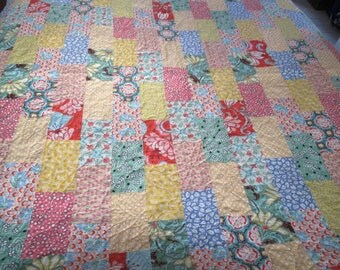 Brick Path Lap Quilt
