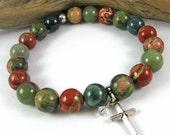 BLACK FRIDAY SPECIAL Faith Labor & Birth Bracelet - Birth Jewelry - Mother Mala Collection - Nursing Reminder Bracelet