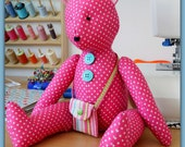 Teddy Bear PDF sewing Pattern