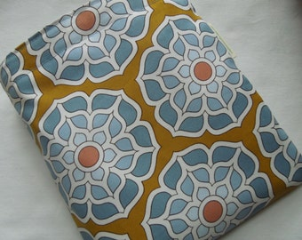 Reusable sandwich and/or snack bag -  Reusable sandwich bag - Ecofriendly  snack bag - Water lotus and two options for matching snack bag