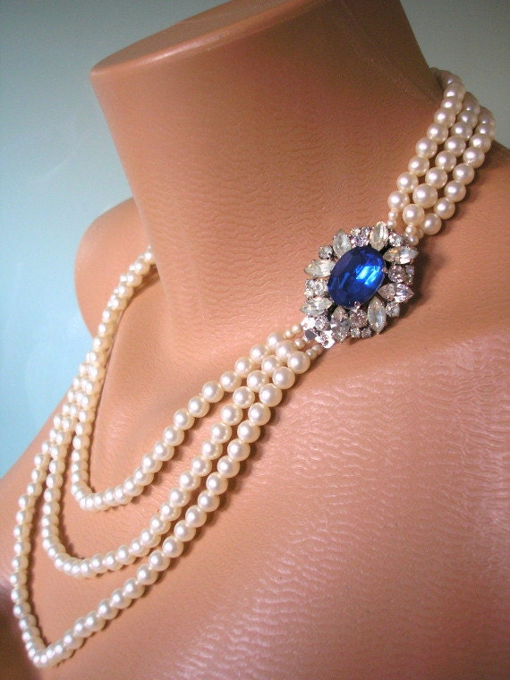 Pearl Necklace Mother of the Bride Great by ...