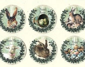 Stickers, Easter Stickers, Rabbit, Chicks, Lamb