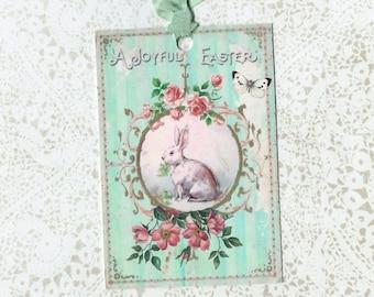 Easter Tags, Rabbit Tags, Rabbit Easter Tags