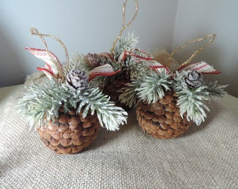 Christmas Ornaments,  Primitive Christmas,  Country Cabin,  Christmas Ornaments