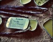 Vanilla Lip Balm - Organic Lip Balm - Natural eco-friendly retro tin