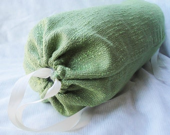 "Bolster pillow cover lime green chenille, neck roll cylinder 14x6"", rectangle and square pillow covers 12x16, 14"", 16 inches"