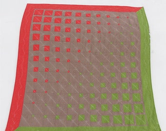 Three Color modern geometric quilt pattern- Simple and Easy patchwork quilt pattern