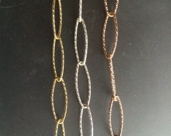 Set of three Diamond Cut Bracelets: sterling silver, gold plated sterling, & rose gold
