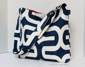 SoCal Slouch - Embrace In Navy - With adjustable strap