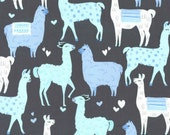 Michael Miller - Fiesta Collection - Packmates in Blue - Half Yard