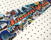 Vintage Atlantic City Souvenir Felt Pennant (1970s)