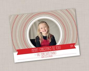 Shutter Circles Holiday Card