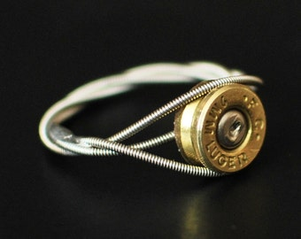 custom handmade jewelry made from recycled materials by