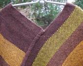 Handwoven Wool Poncho