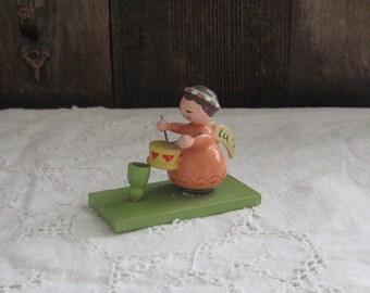 vintage little drummer angel