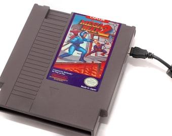 NES Hard Drive - Mega Man 2 USB 3.0