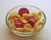 Felt Play Food - Cheese Macaroni and Weenies