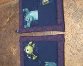 Disney Monsters University Kitchen Potholder Set