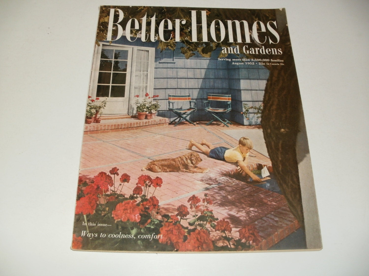 Better Home And Garden: Vintage Better Homes And Gardens Magazine August By