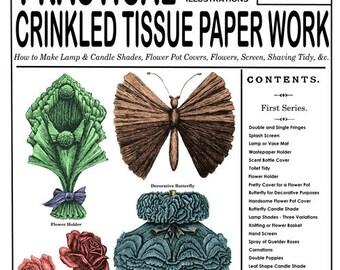 Weldon's 2D #73 c.1891 - Practical Crinkled Tissue Paper Work (1st Series)