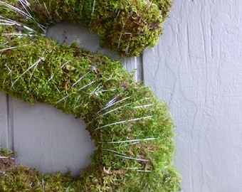 Wild Harvested Moss Covered Letters