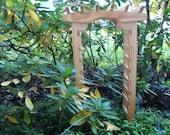 ONE Vintage Mini Pergola - Arbor - Trellis - Wedding Decor - Shower - Party Decor - Table Decor - Garden Party -  Fairy Garden