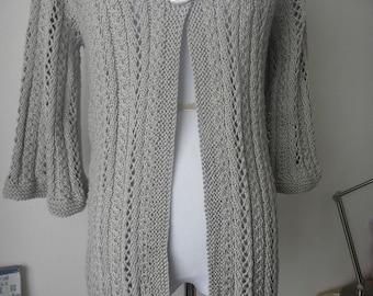Platinum cotton blend cardigan no. 248
