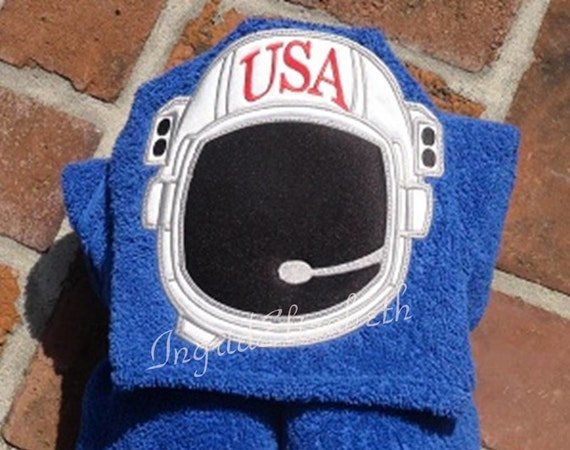 Astronaut Hooded Towel .. Bath or Pool ... Quality Oversized