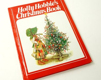 Holly Hobbie's Christmas Book 1980 / Verses and Well-Known Christmas Poems / Vtg Children's Book
