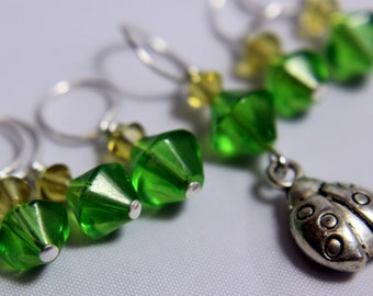 Spring Stitch Markers