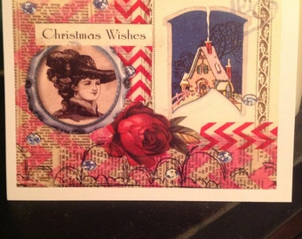 Handmade Greeting Card Christmas