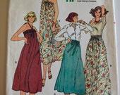 Butterick 6140 Misses Skirt or Dress Size 6 UNCUT