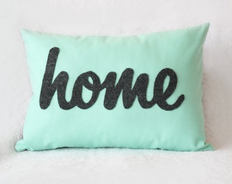 Home Pillow - Decorative Throw Pillow - Custom Color Choices