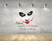 Dark Knight - Joker Wall Decal