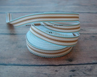 5 Yards 3/8 Inch Seaside Grosgrain Ribbon FREE SHIPPING With 6 Or More Items