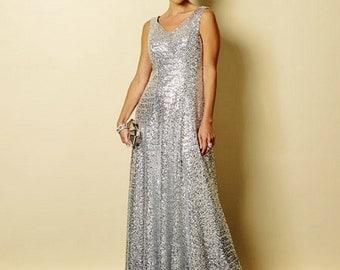 Formal Dress Pattern, Evening Dress Pattern, Sz 3/4 to 16, Butterick Pattern 6146