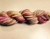 170 yards Thick N Thin Handspun Bulky Merino Yarn 4.0 oz