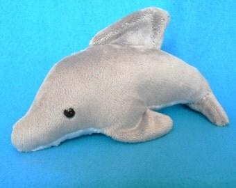 Gray Dolphin Plush READY TO SHIP