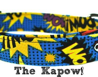 Comic Dog Collar - The Kapow!