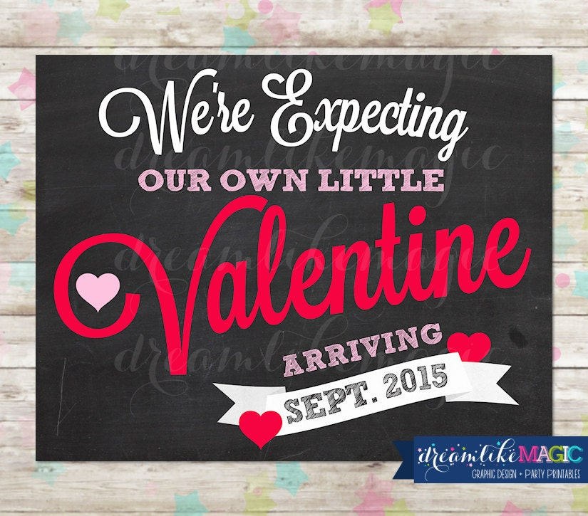 Valentines announce – Valentine Birth Announcement