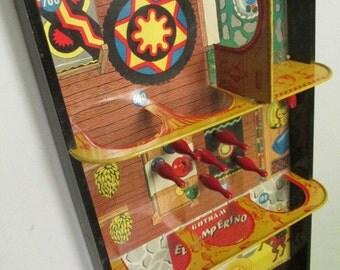 1930's-40's Gotham Tin Lithograph El Jumperino Game