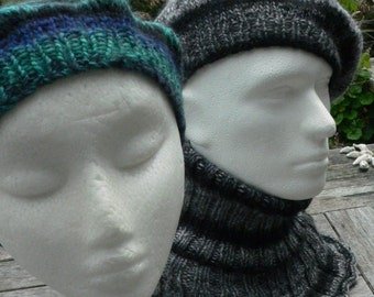 Pattern, classic, elegant, sexy beret in Parisian style with or without I-cord nub. Instant download