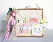 PDF Instruction Sheet -- Pretty Little Party 6x6 Mini Book