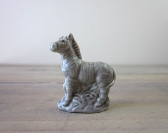 Wade Whimsies Rose Tea Miniature Zebra Figurine