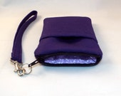 Cell Phone Wristlet in Three Sizes for iPhones 4, 5, 6, 6+, Samsung Galaxy and Galaxy Note