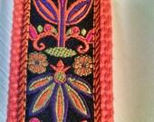 Key Fob. Wristlet. Key Chain. Woven Ribbon. Jacquard Ribbon Key Chain. Cotton Webbing Key Fob
