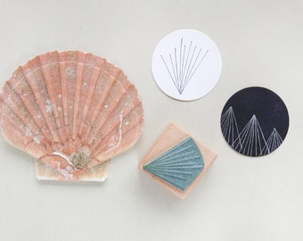 Rubber Stamp: Star – Corona meets sea urchin